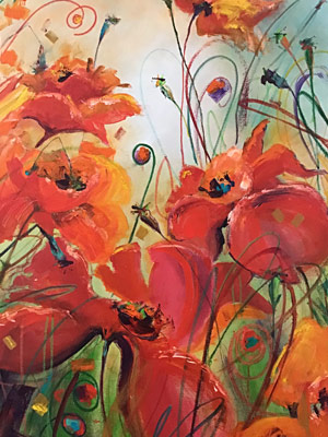 Janie Matthews Read's Painting of a Poppy
